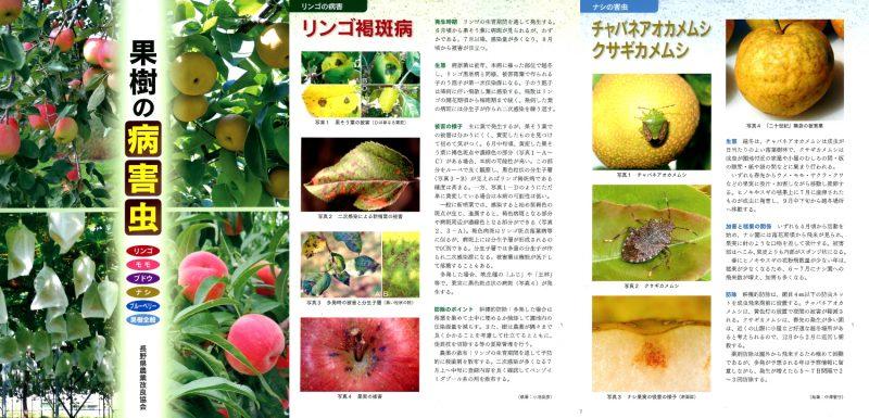 書籍「果樹の病害虫」